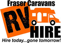 RV hire at Fraser Caravans